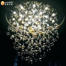 crystal hanging lamp chandelier with glass candle ball pendant for south africa