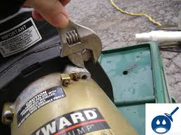 hayward super pump humming noise for about a second wet head media removing the hayward super pump housing bolts · diy pool repair