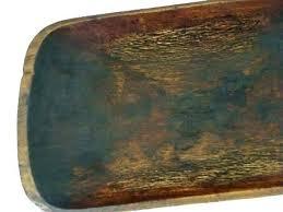 wooden bread bowl antique large dough trough for a rustic long wooden bread bowl