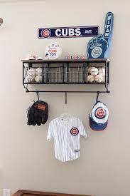 vintage baseball nursery project