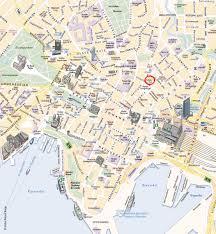oslo tourist map  oslo norway • mappery