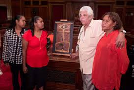 The journey of an object: Neville Bonner bark painting · Museum of ...