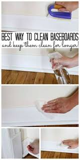 the best way to clean baseboards and keep them clean for longer