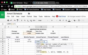 loan amortizing how to create a loan amortization schedule in google sheets ms ecel