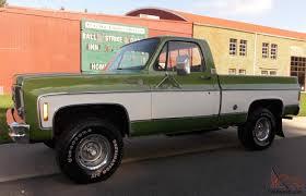Chevy Cheyenne 4x4 4 Speed 350 V8 Shortbed 2 Owner NO RESERVE ...