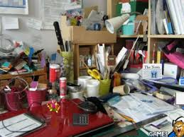 office play. Game - Messy Office Room Play