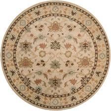 artistic weavers john beige 6 ft x 6 ft round area rug