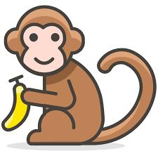 Animal Icon Monkey Animal Free Icon Of Another Emoji Icon Set
