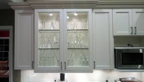 image of pictures of glass kitchen cabinets