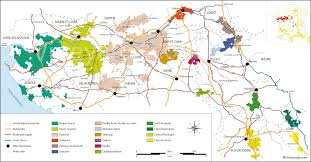 loire valley map of vineyards wine regions