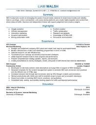Internet Marketing Resume new grad nursing resume template