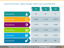 Creative Table Chart 30 Creative Data Table Graphics Design Powerpoint Template