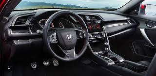 2018 honda si. fine honda inside the cabin of 2018 honda civic si coupe and sedan youu0027ll  discover creature comforts that match race carlike exterior with honda si