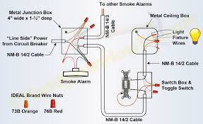series parallel wiring diagram 3 wire wiring library interconnected smoke alarm on unswitched branch circuit also used for power and lighting