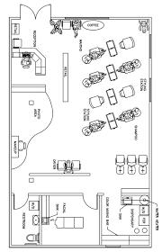 Salon Floor Plan Design Layout  1390 Square Feet RG P  Salon Floor Plans For Salons