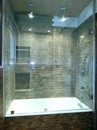 sliding glass shower doors bathtub installation and tub enclosure near