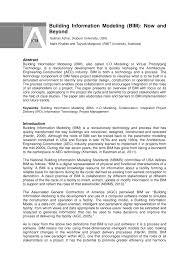 Building Information Modeling Framework For Structural Design Pdf Building Information Modeling Bim Now And Beyond