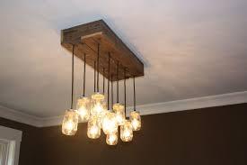mason jars chandeliers