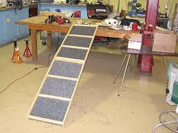 saltofamerica article help a gimpy dog build a dog ramp quick