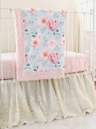 vintage fl crib bedding