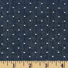 Kaufman Cotton Chambray Dots Indigo - Discount Designer Fabric ... & Kaufman Cotton Chambray Dots Indigo - Discount Designer Fabric - Fabric.com Adamdwight.com