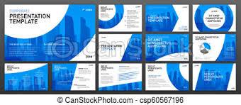 Presentation Design Templates Corporate Presentation Templates Set