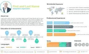 Powerpoint Resume Templates Mesmerizing Powerpoint Resume Template Powerpoint Resume Template A Smart Resume