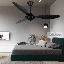 proud ef52073 52 black ceiling fan with