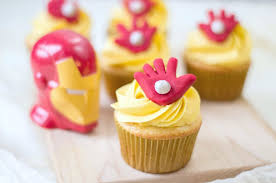 Avengers Iron Man Cupcakes Whispered Inspirations