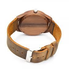 men s sandalwood watch genuine leather wrisch hight quality quartz wrisches wooden watches top gift item