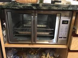 oster french door countertop oven stainless steel tssttvfddg