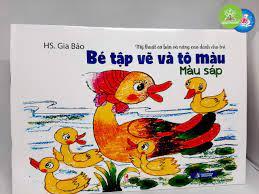 Bé tập vẽ và tô màu - Màu sáp – Hệ Thống Nhà Sách Nguyễn Văn Cừ