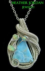 wire wrapped recycled glass pendant. Wire Wrapped Recycled Glass Pendant P