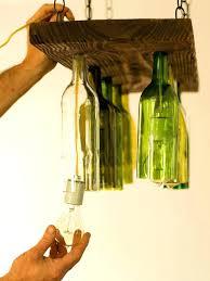 whiskey bottle chandelier waterfall wine bottles ceiling lights glass kit how to make a small whiskey bottle chandelier
