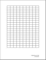 Graph Paper 10 X 20 Abcteach
