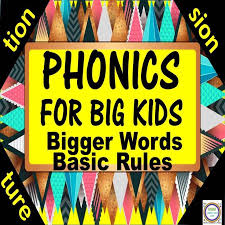 bestof20Phonics for Big Kids: Tion, Sion, Ture, Syllabication, and ...