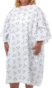 Hospital Gown Pattern Cool 48X Plus Size Hospital Gown