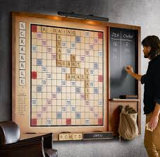 Scrabble Letter Wall Decor Gigantic Wall Scrabble Game The Green Head