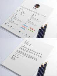 Free Resume Design 100 Fresh Free Resume CV Design Templates 100 in Word PSD Ai 34