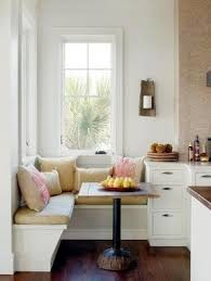 Breakfast nook corner bench