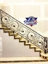 Iron Stairs Design Indoor Indoor Iron Stair Railing Custom Design Artistic Wrought