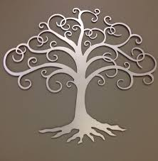 like this item  on silver metal wall art trees with tree of life industrial metal wall art 24