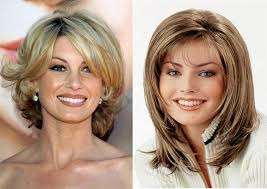 um length hairstyles for older women with fine hair um length hairstyles for women over 40