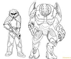 halo elite coloring pages 4