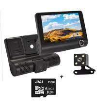 Camera hành trình ô tô 3 mắt X005 4 inch fullHD 1080p , camera sau chống  nước - BM31 - BẢO HÀNH 6 THÁNG /uy tín