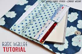 Free Wallet Patterns Awesome Fort Worth Fabric Studio Basic Wallet Tutorial