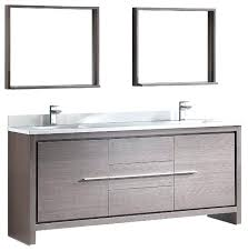 72 vanity modern double sink bathroom vanity with mirror gray oak 72 double vanity with top