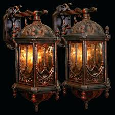gothic wall sconces for candles