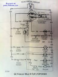 wiring diagram ge refrigerator the wiring diagram ge zer model fuf17dpdrwh schematic fixitnow samurai wiring diagram