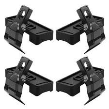 <b>Thule</b> 5002 - Evo Clamp Fit <b>Kit</b> for <b>MAZDA 3</b> 4DR w/ Fixed Points ...